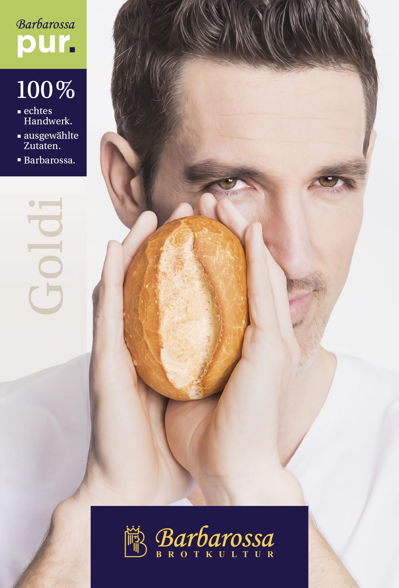 Barbarossa Bäckerei Imagekampagne 2015