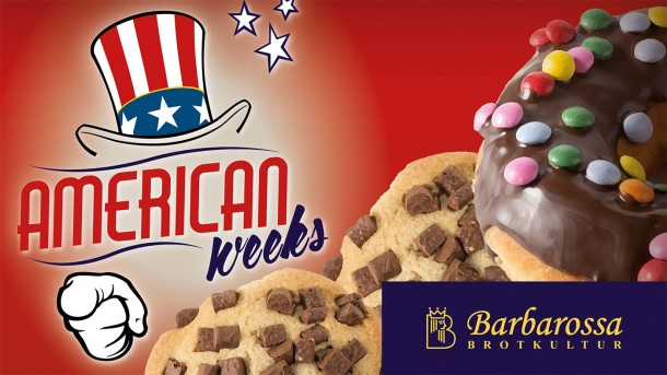 Barbarossa Bäckerei American Weeks