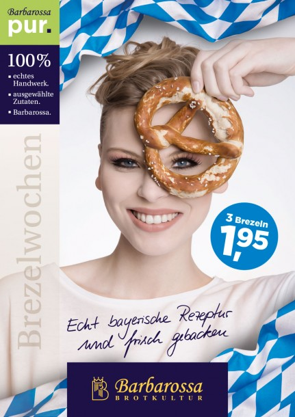 Barbarossa Bäckerei Brezelwochen