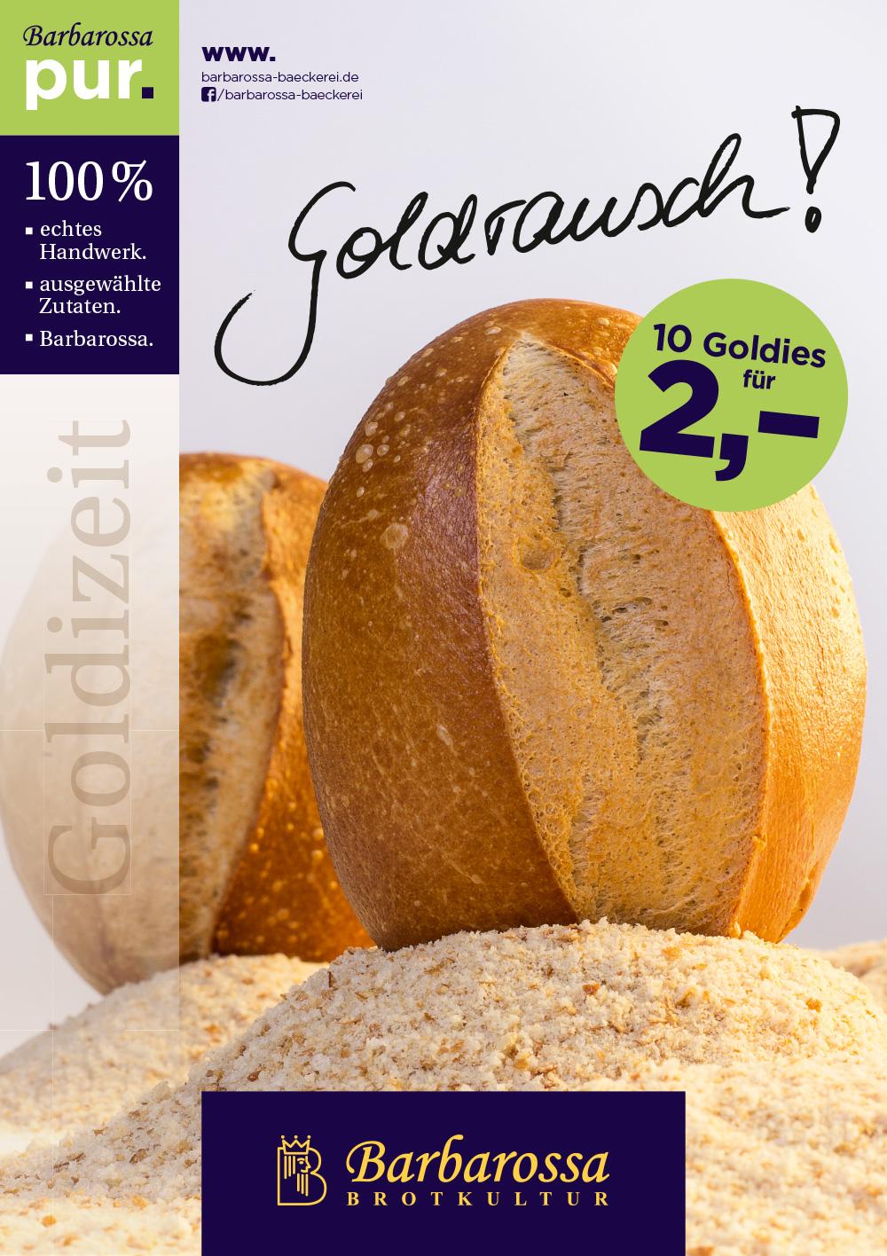 Kampagne Barbarossa Bächerei Goldrausch
