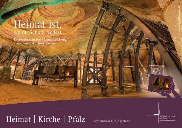 Evangelische Kirche der Pfalz - Heimat | Kirche | Pfalz 2015 - Motiv Schlossberghöhlen Homburg