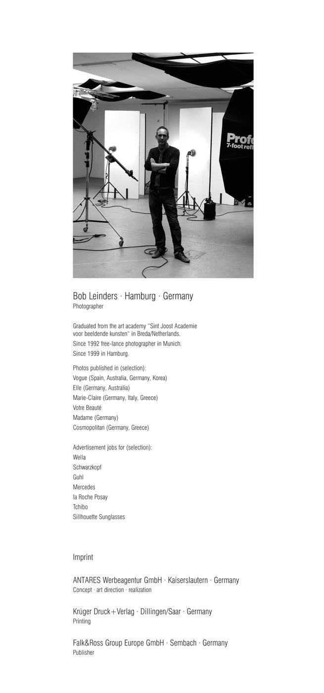 Falk&Ross | Kalender 2005 | Vita Bob Leinders