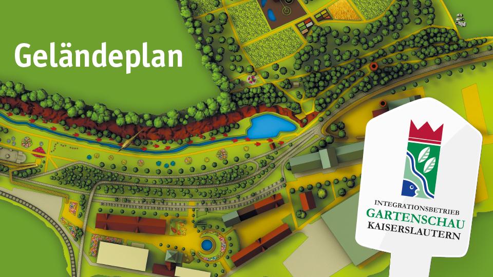Gartenschau Kaiserslautern Geländeplan
