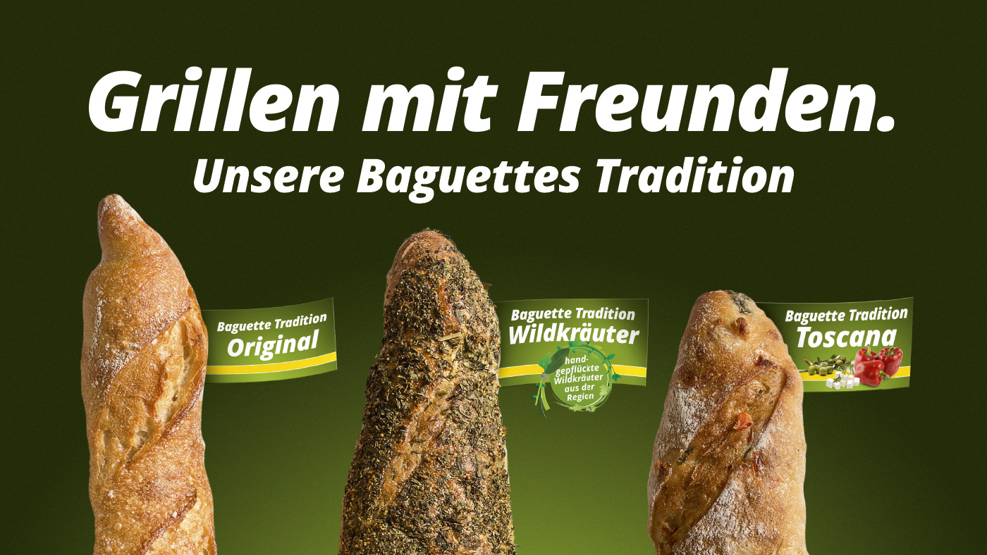 Peters gute Backstube | Plakat Baguette Tradition
