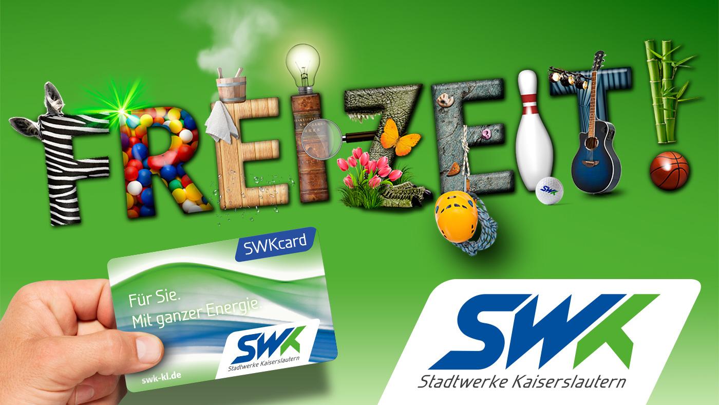 Stadtwerke Kaiserslautern | Kampagne SWKcard 2016