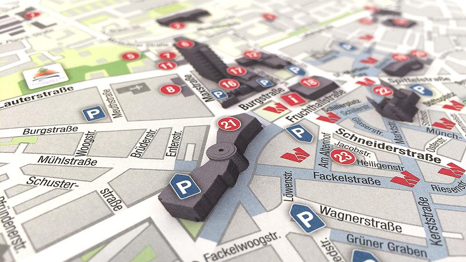 Stadtplan Kaiserslautern
